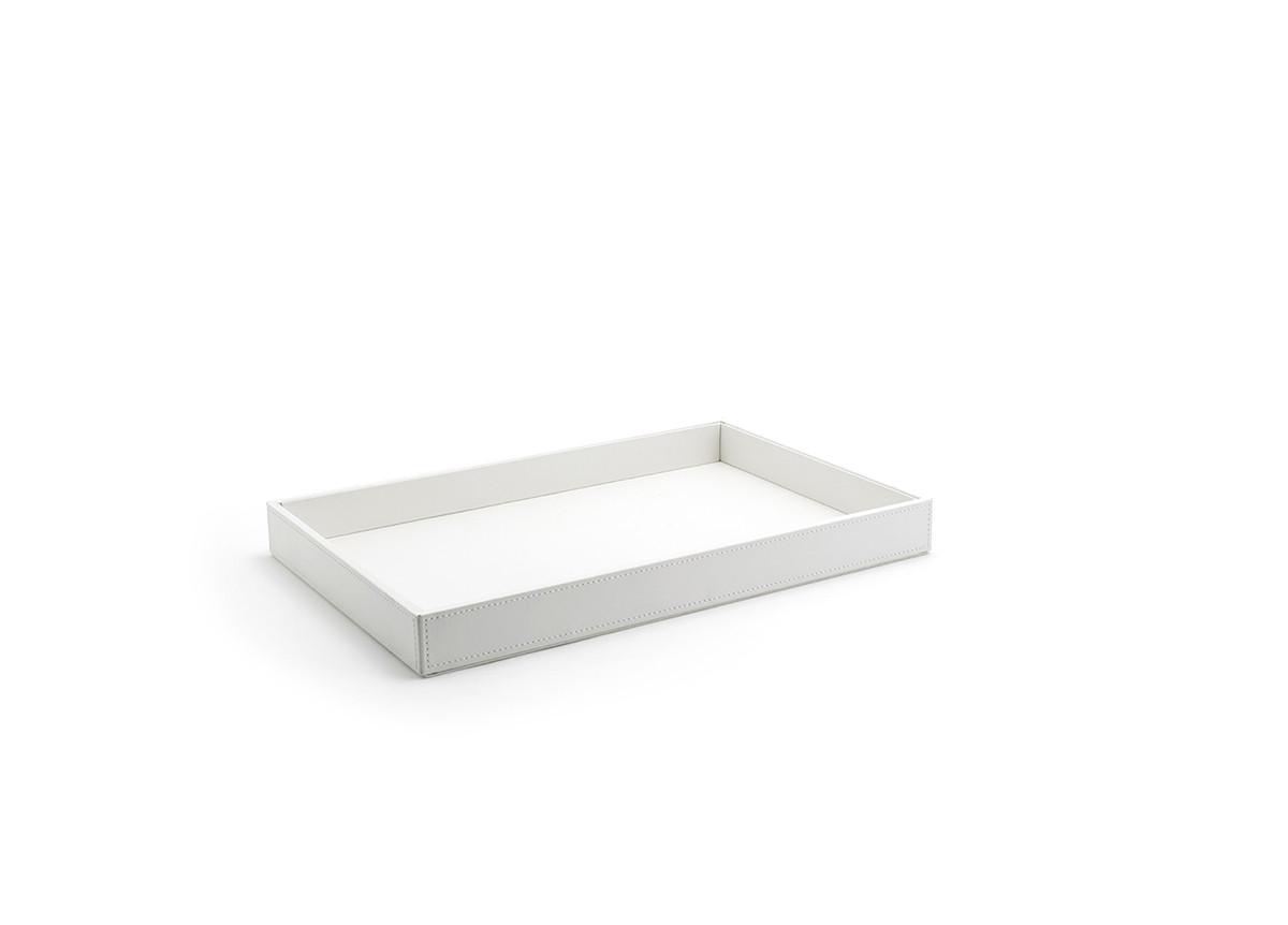 "15"" x 10"" London Tray - White"