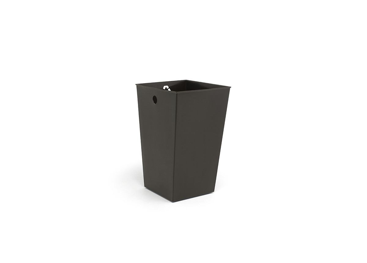 PP Recycle Bin Liner with Recycle Decal - Brown