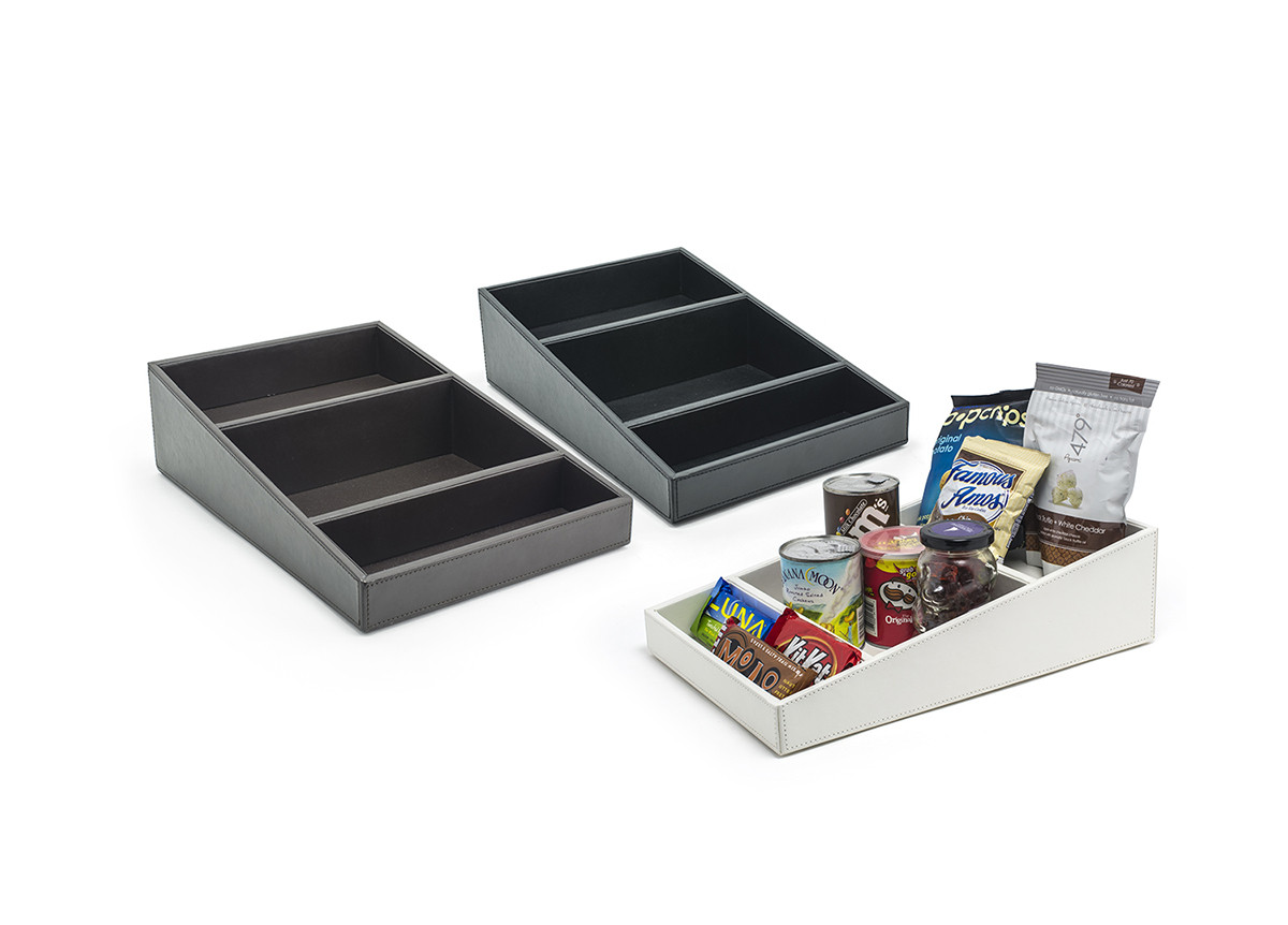 London Two Tiered Snack Tray