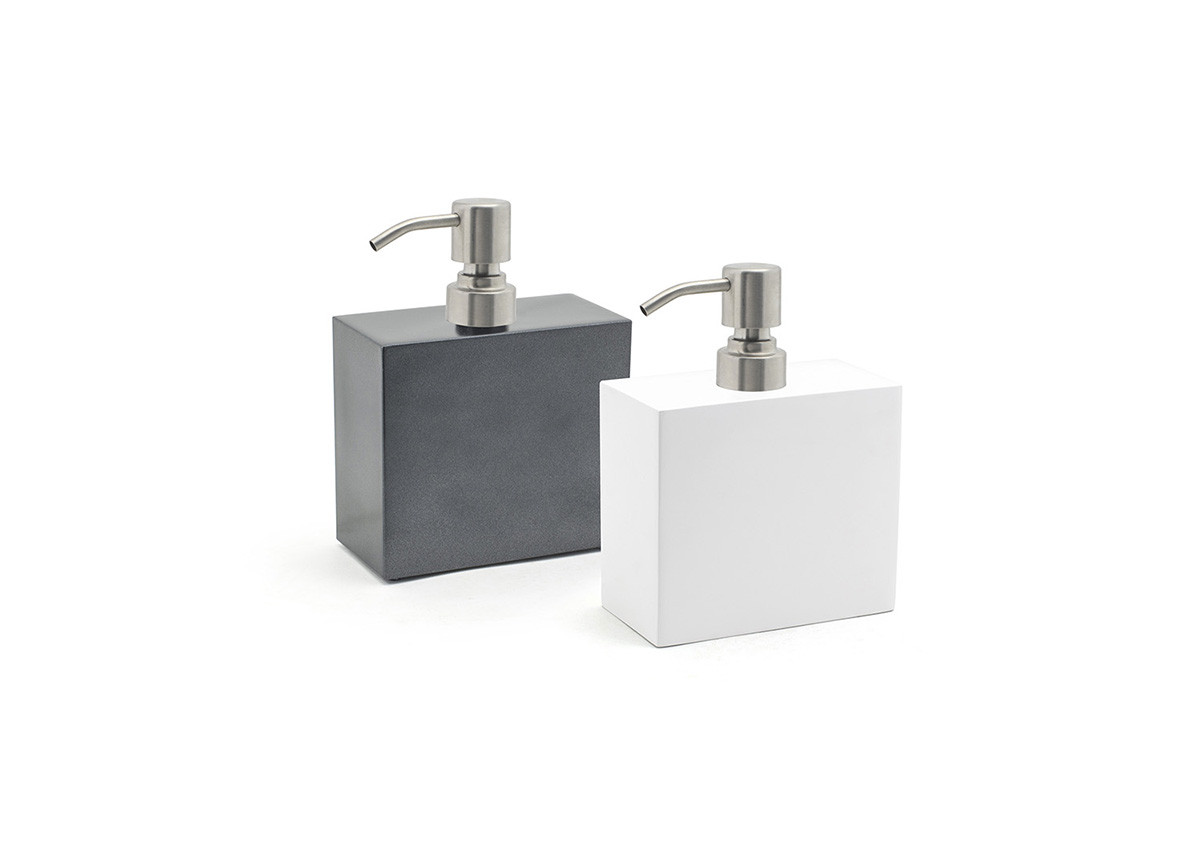 28oz New York Soap Pump - with Brushed Stainless Steel Pump