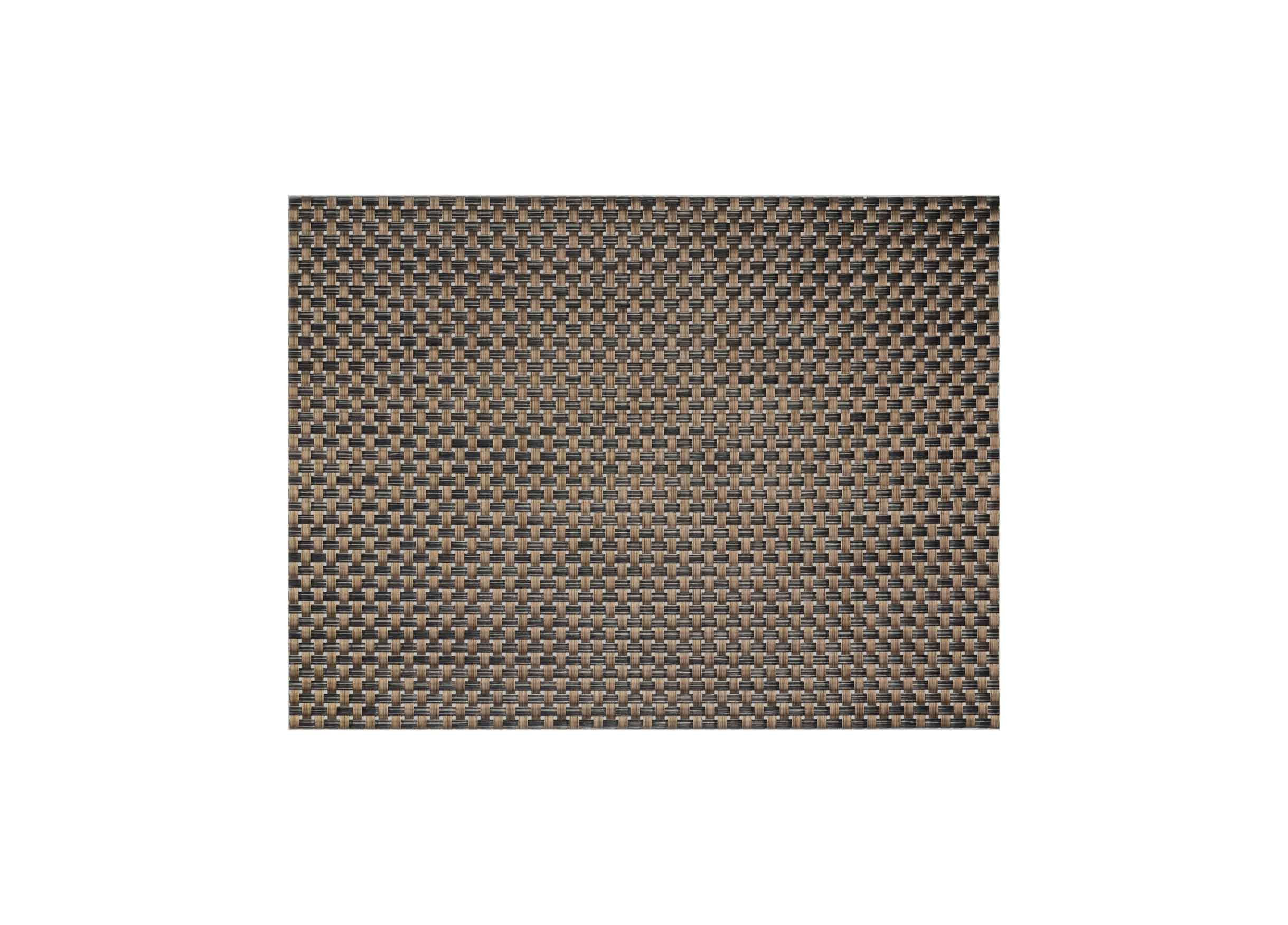 "16"" x 12"" Metroweave Large Basketweave Mat - Copper"