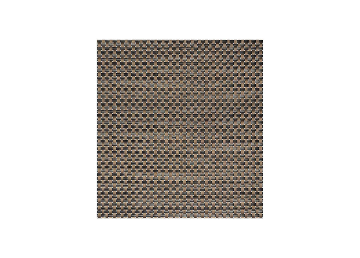 "14"" x 13"" Metroweave Large Basketweave Mat - Copper"
