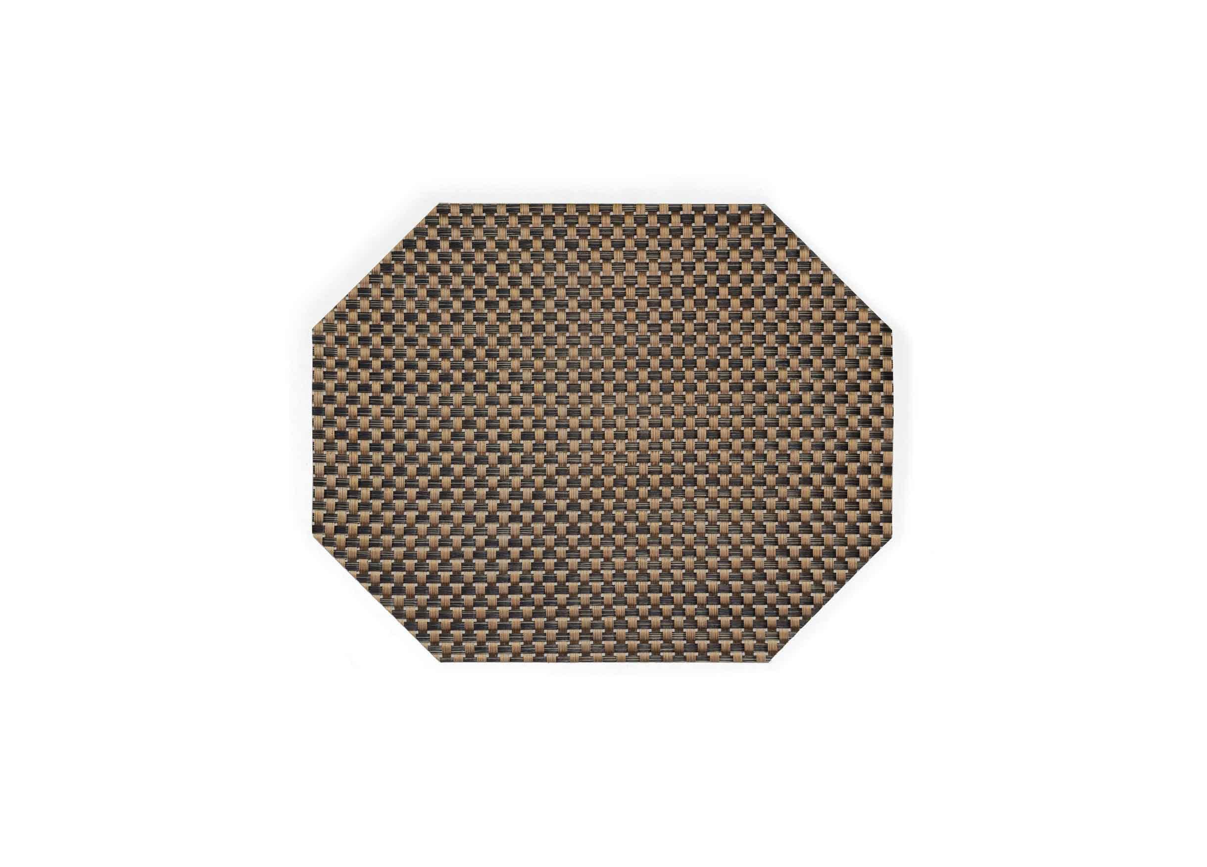 "14"" x 11"" Metroweave Large Basketweave Mat - Copper"