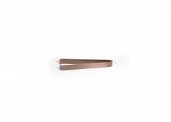 """7"""" Brushed Stainless Tongs - Rose Gold"""