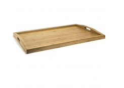 """26"""" x 18"""" Bali Curved Handled Room Service Tray"""