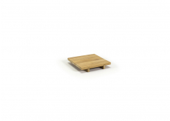 """6"""" Square Bali Footed Tray"""