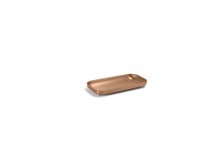 "8"" x 4.25"" Geneva Amenity Tray - Rose Gold"