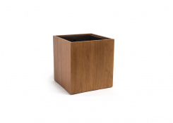 11.5qt Rubberwood Cube