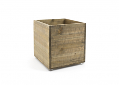 9qt Rustic Cube - Natural