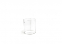 """8"""" PVC Cylinder Liner - Clear"""