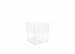 """9"""" PVC Cube Liner - Clear"""
