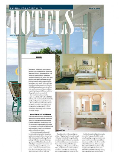 HOTELS Magazine Editorial  - March 2019
