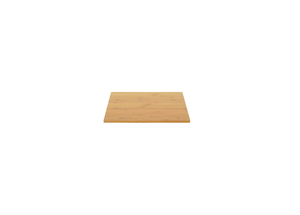 "14"" Square Bamboo Board - Natural"