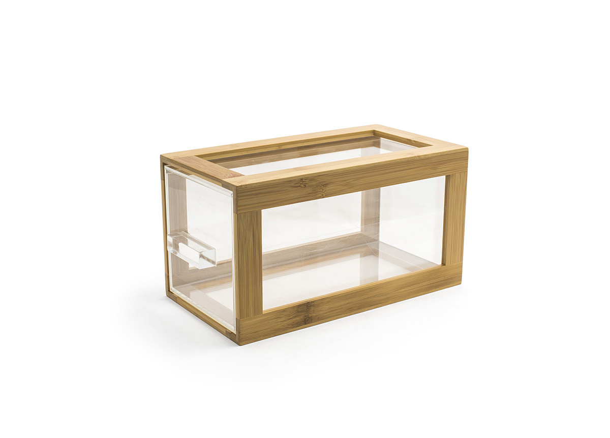 Bamboo Housing/Drawer Set