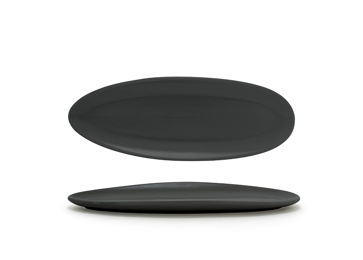 "11.5"" Slim Tides Plate - Mussel"