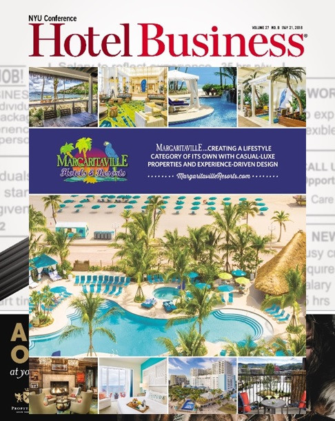 Hotel Business Magazine Editorial - May 2018