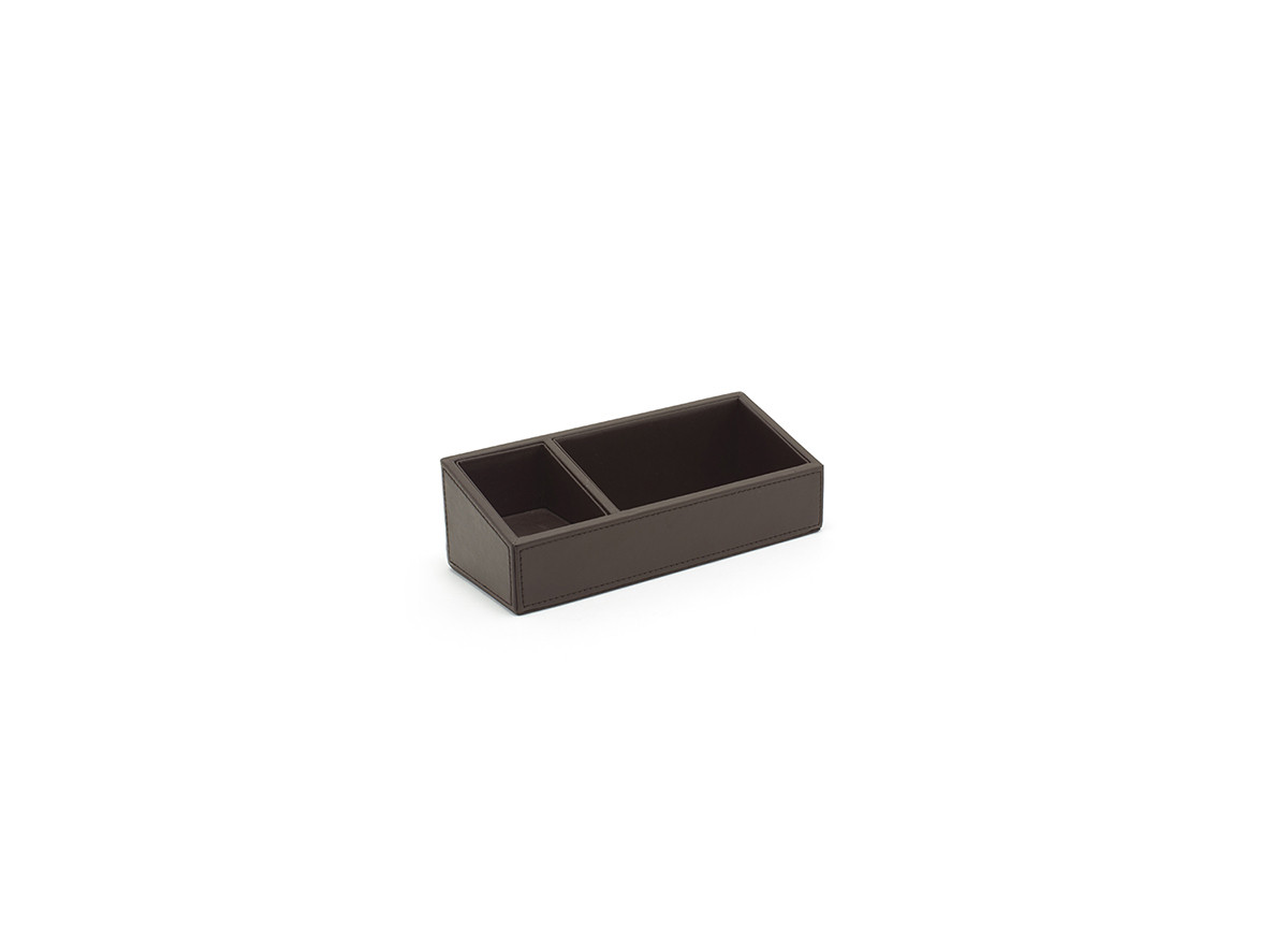 """8.75"""" x 3.5"""" London Accessory Holder - Brown"""