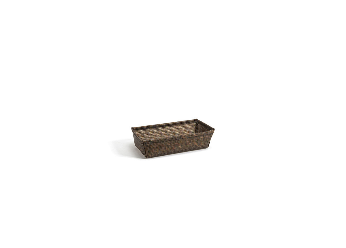 "7.5"" x 4"" Metroweave® Basket - Mesh Copper"