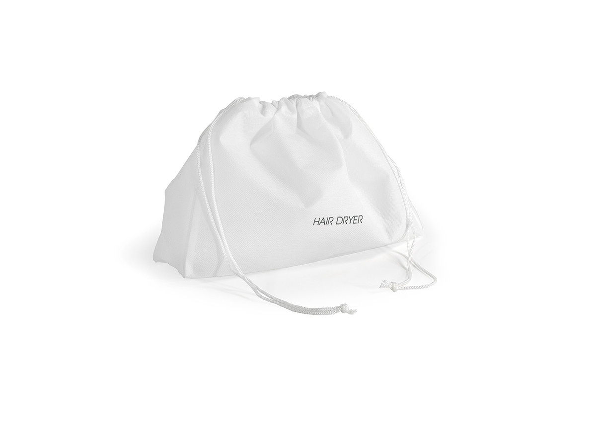 Hair Dryer Bag - White