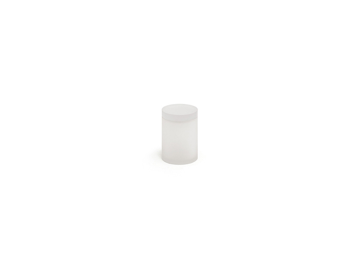 Nassau Jar With Lid - Ice