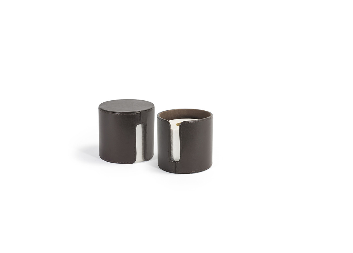 London Toilet Paper Holder - Brown