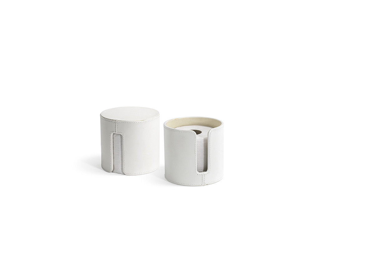 London Toilet Paper Holder - White
