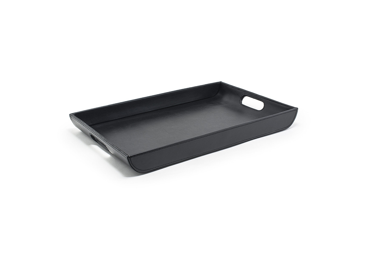"18.25"" x 12"" London Flare Tray - Black"