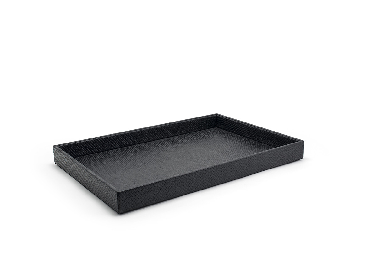 "19"" x 13"" Java Tray - Black"