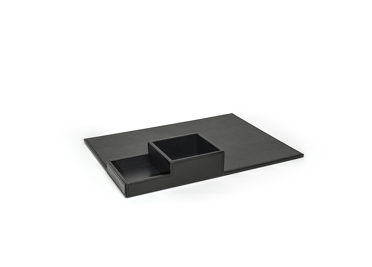 "15.5"" x 11.75"" London Flat Tray - Black"