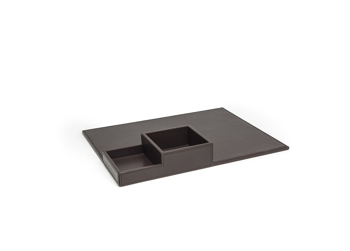 "15.5"" x 11.75"" London Flat Tray - Brown"