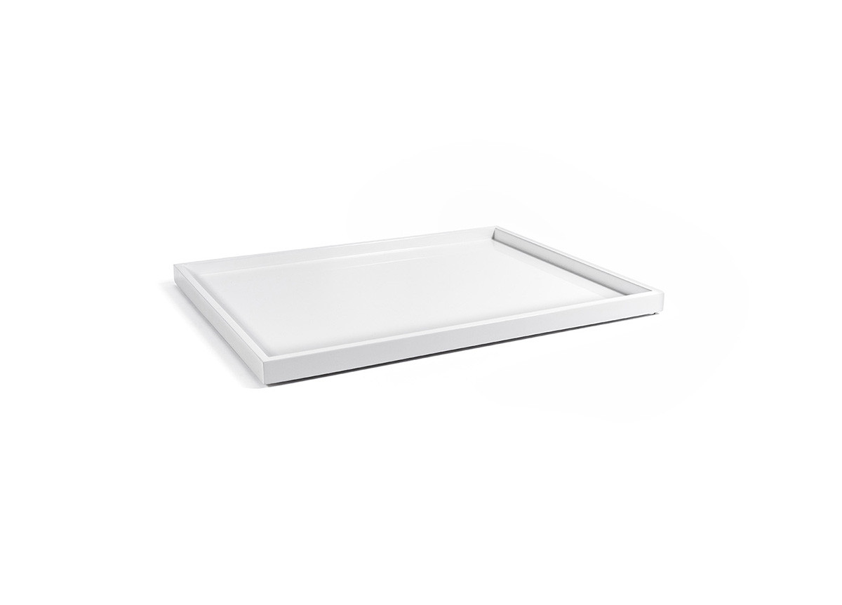"16.75"" x 13"" New York Tray - Snow"