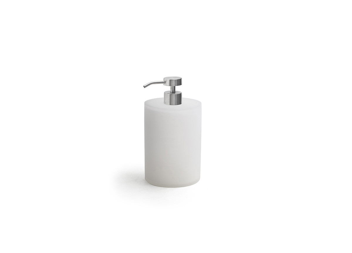 28oz Nassau Pump - Ice with Low Profile Brushed Stainless Top