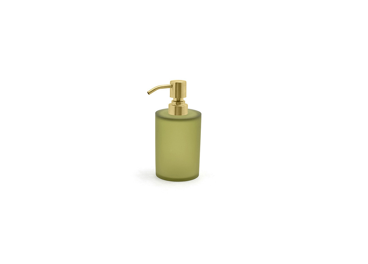 10oz Nassau Pump - Sage with Matte Brass Top