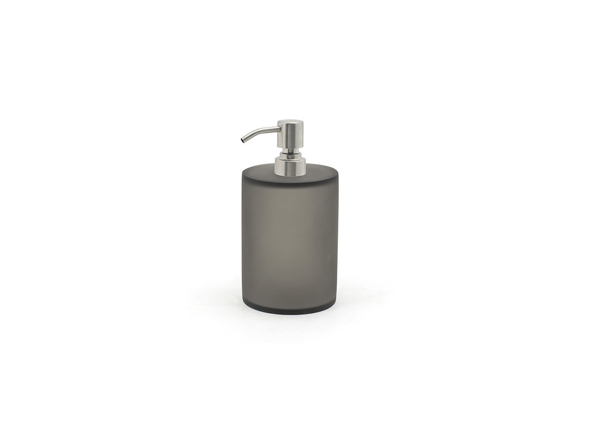 28oz Nassau Pump - Smoke with Brushed Top