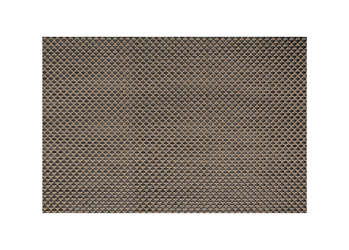"24"" x 16.25""Metroweave Large Basketweave Mat - Copper"