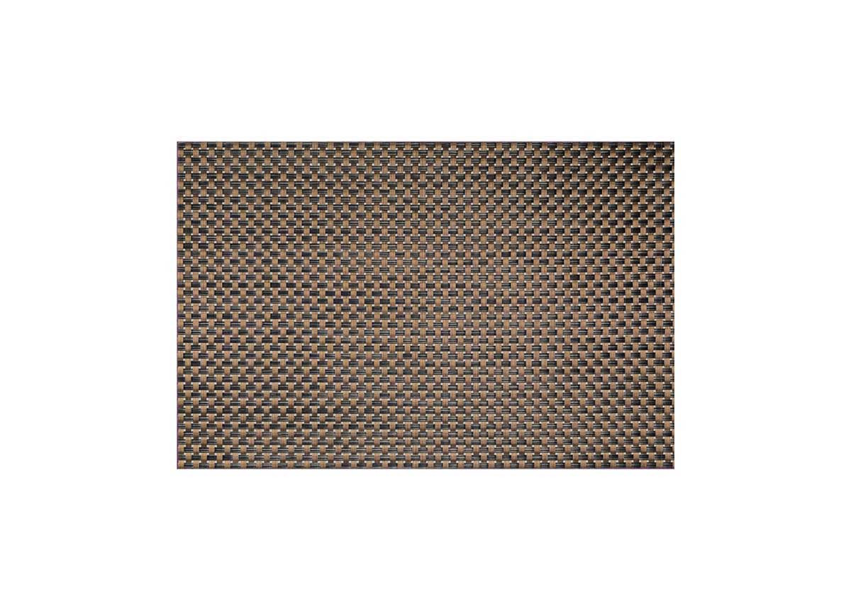 "18.25"" x 12"" Metroweave Large Basketweave Mat - Copper"