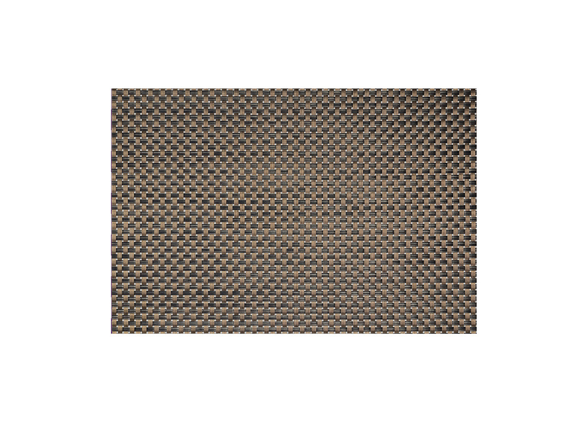 "17.5"" x 11.75"" Metroweave Large Basketweave Mat - Copper"