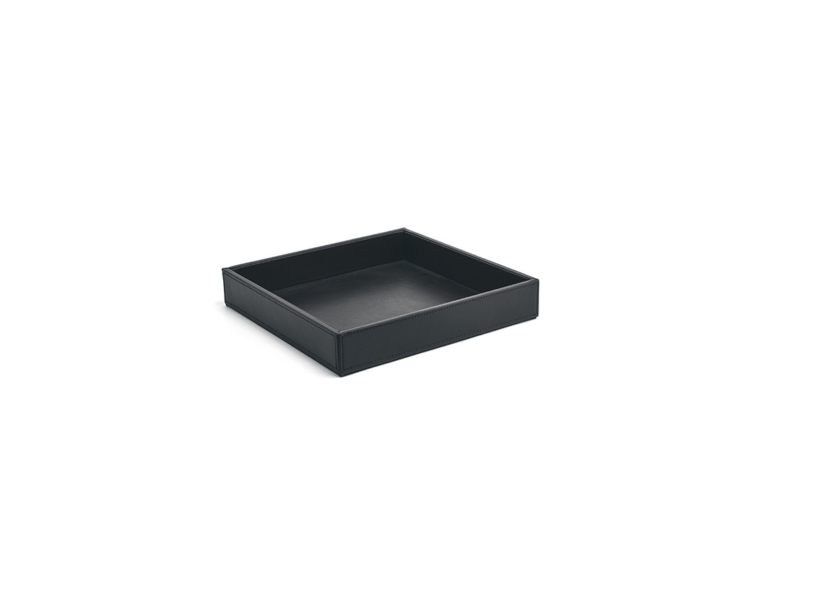 "10"" Square London Tray - Black"