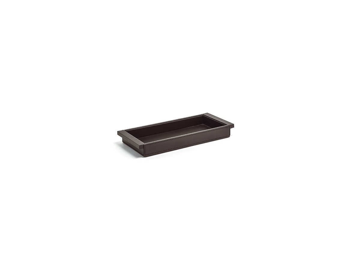 "11"" x 5"" London Tray - Brown"