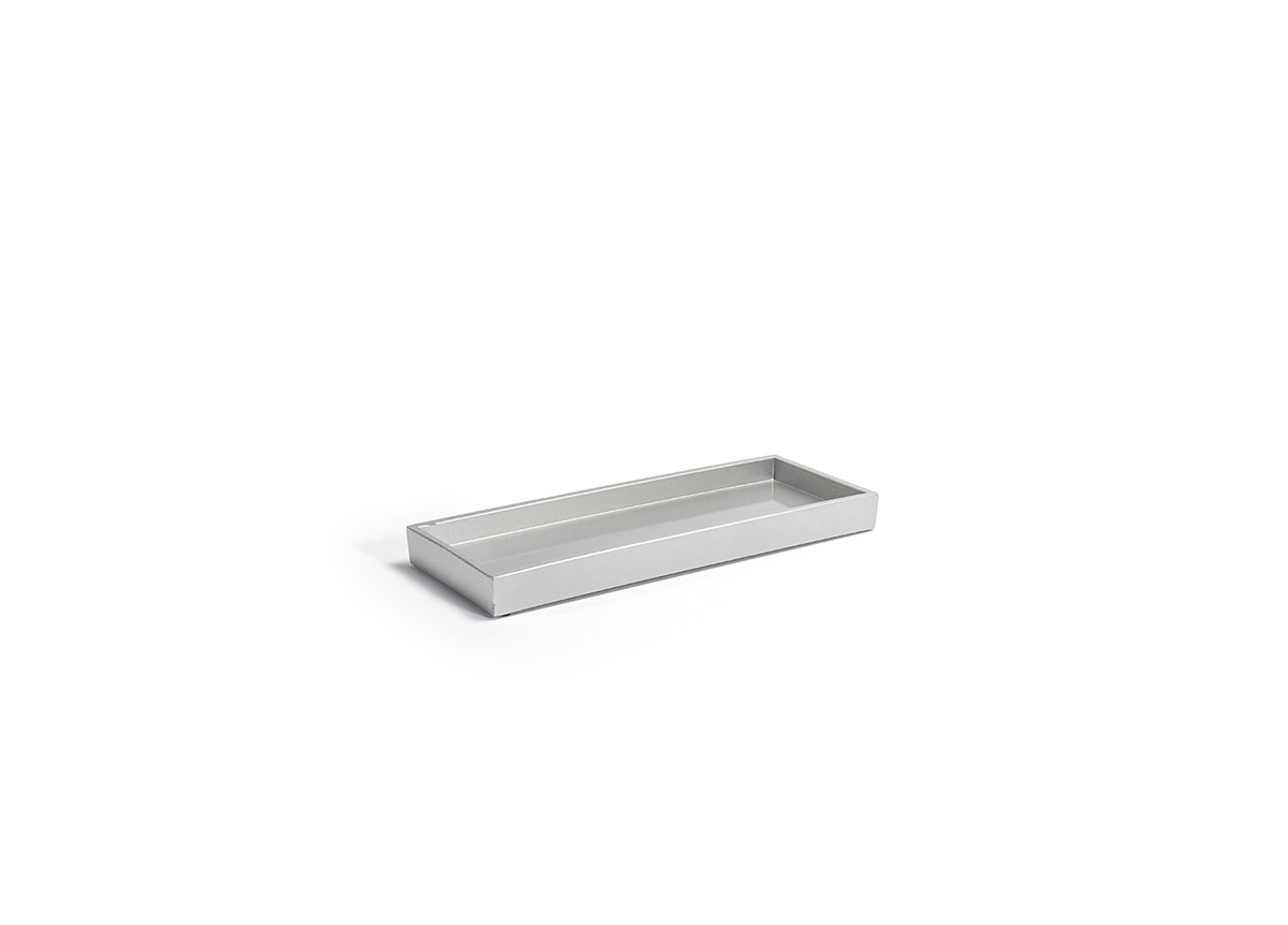 "11.75"" x 4.5"" New York Amenity Tray - Steel"