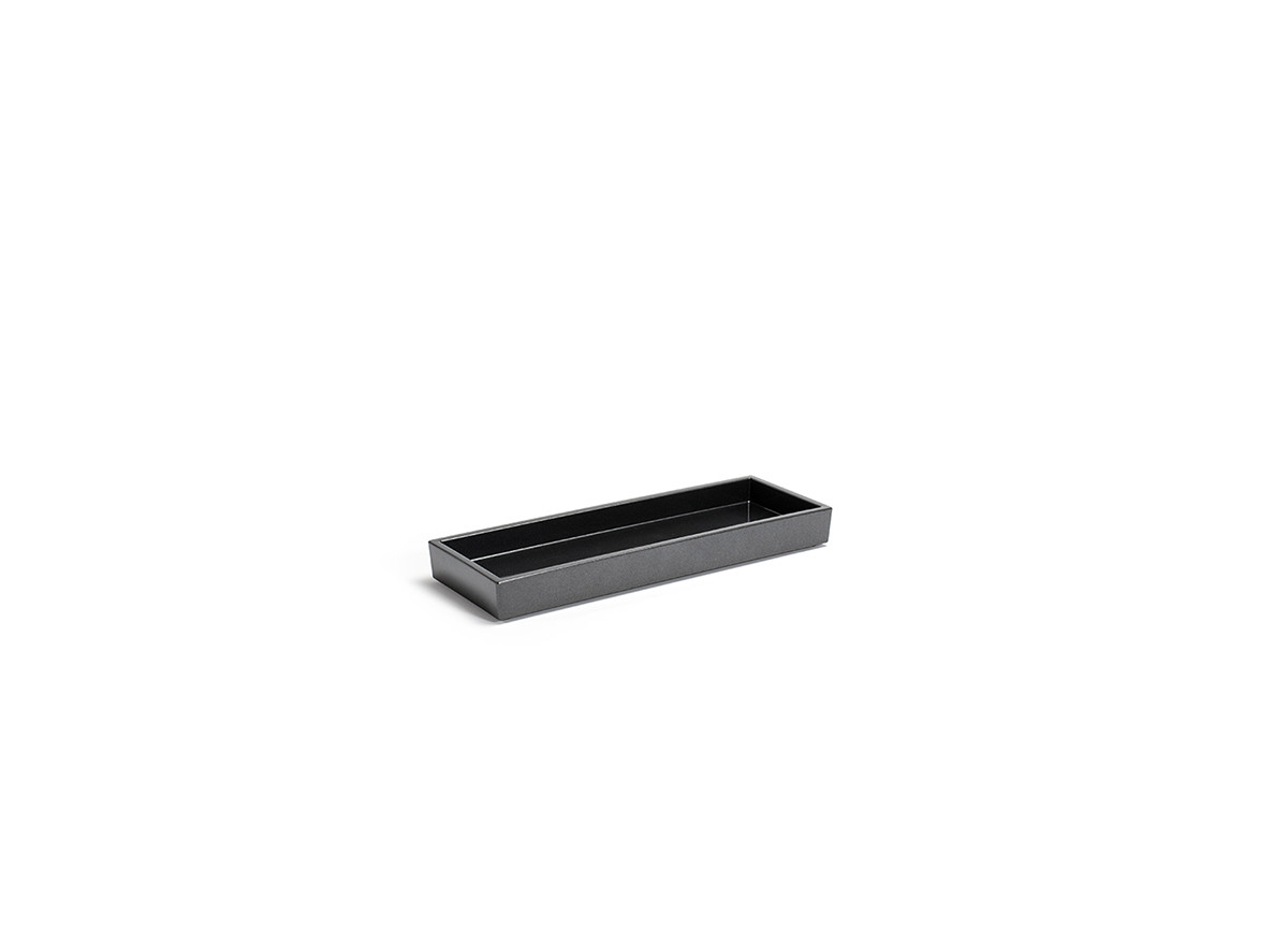 "10"" x 3.5"" New York Amenity Tray - Onyx"