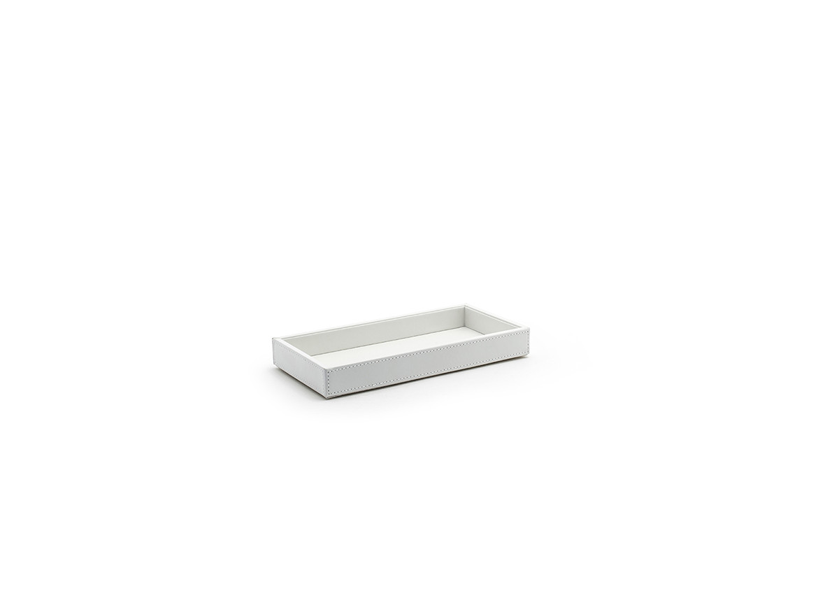 "10.25"" x 5"" London Amenity Tray - White"