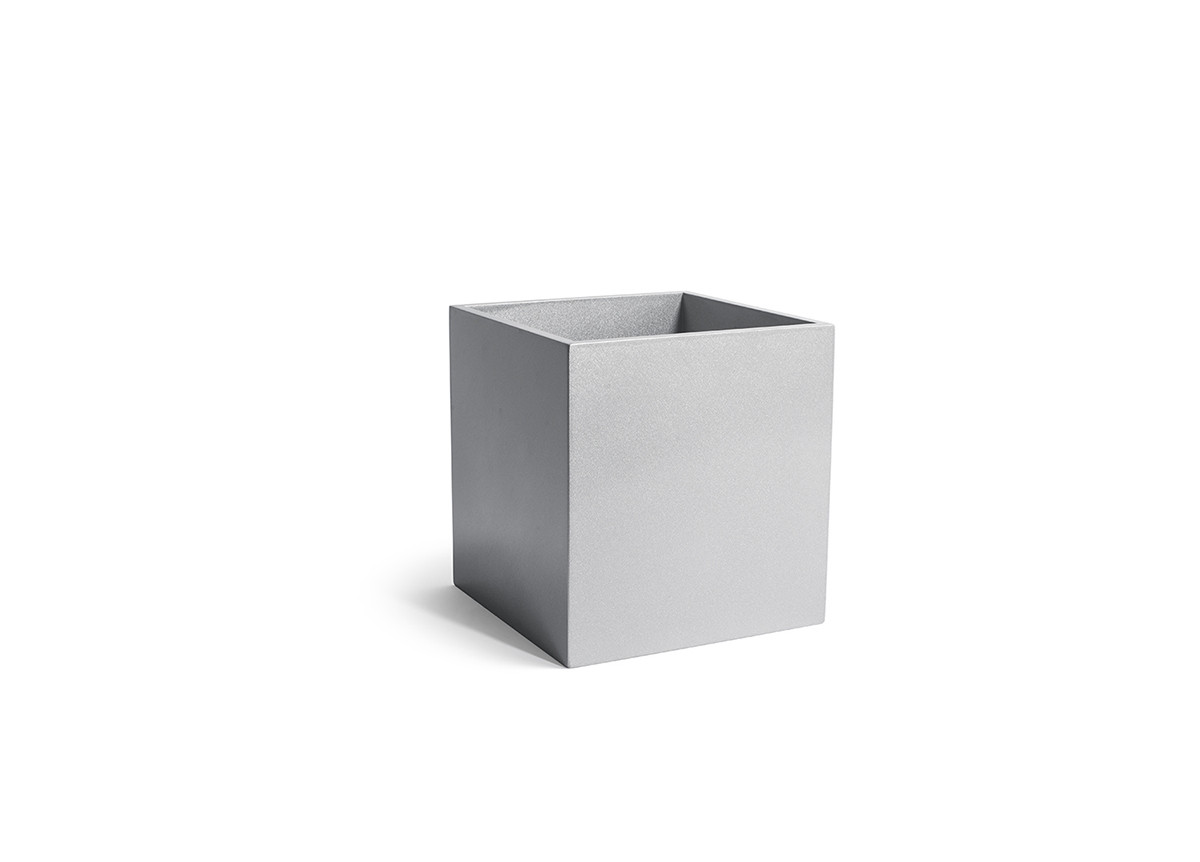 8qt New York Cube - Steel