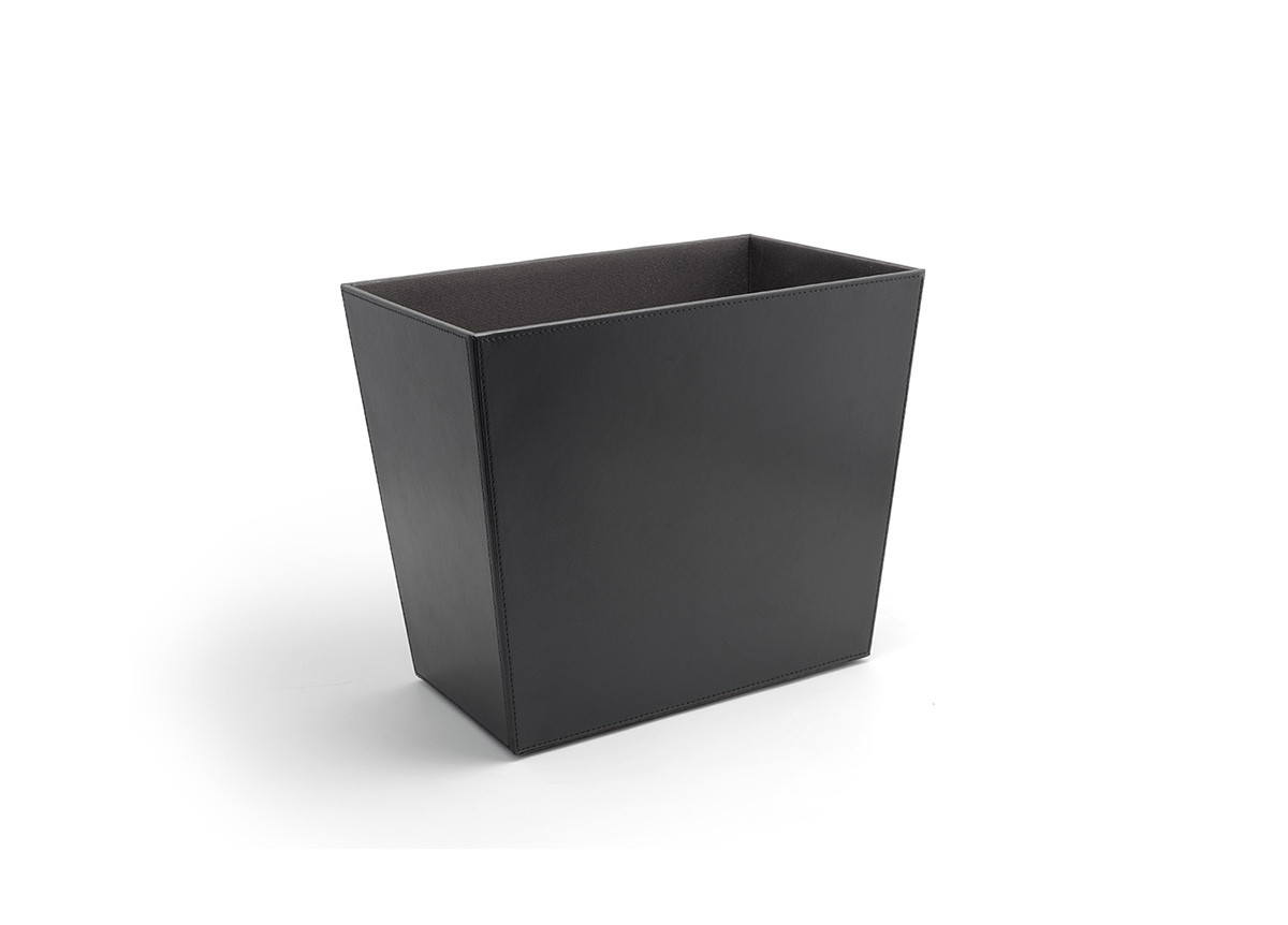 17qt London Recycle Bin - Black