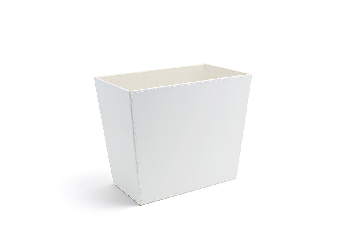 17qt London Recycle Bin - White