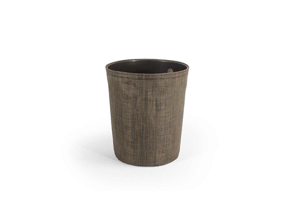 6.75qt Metroweave Tapered Cylinder - Mesh Copper