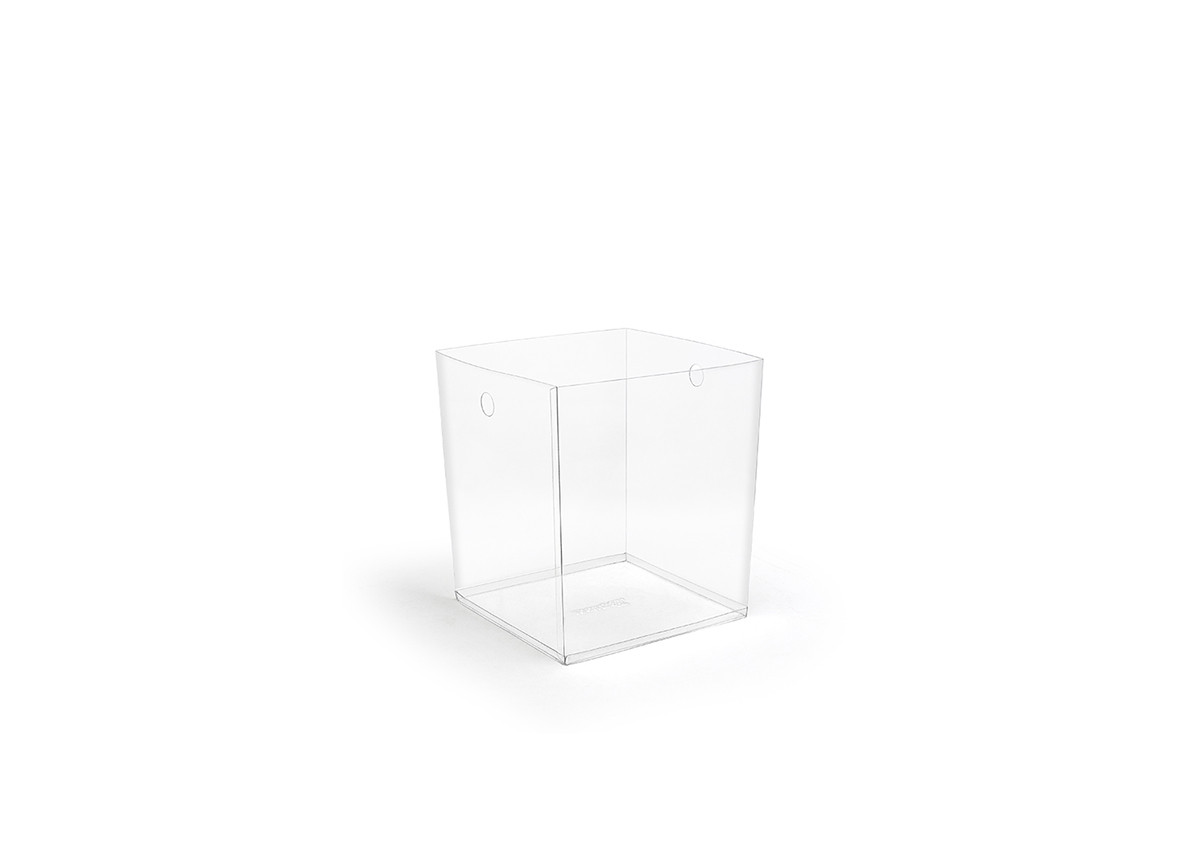 "8"" PVC Cube Liner - Clear"