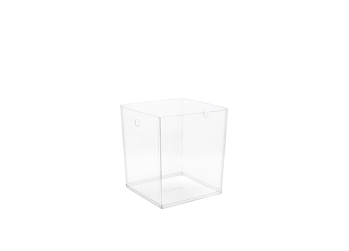 "9"" PVC Cube Liner - Clear"