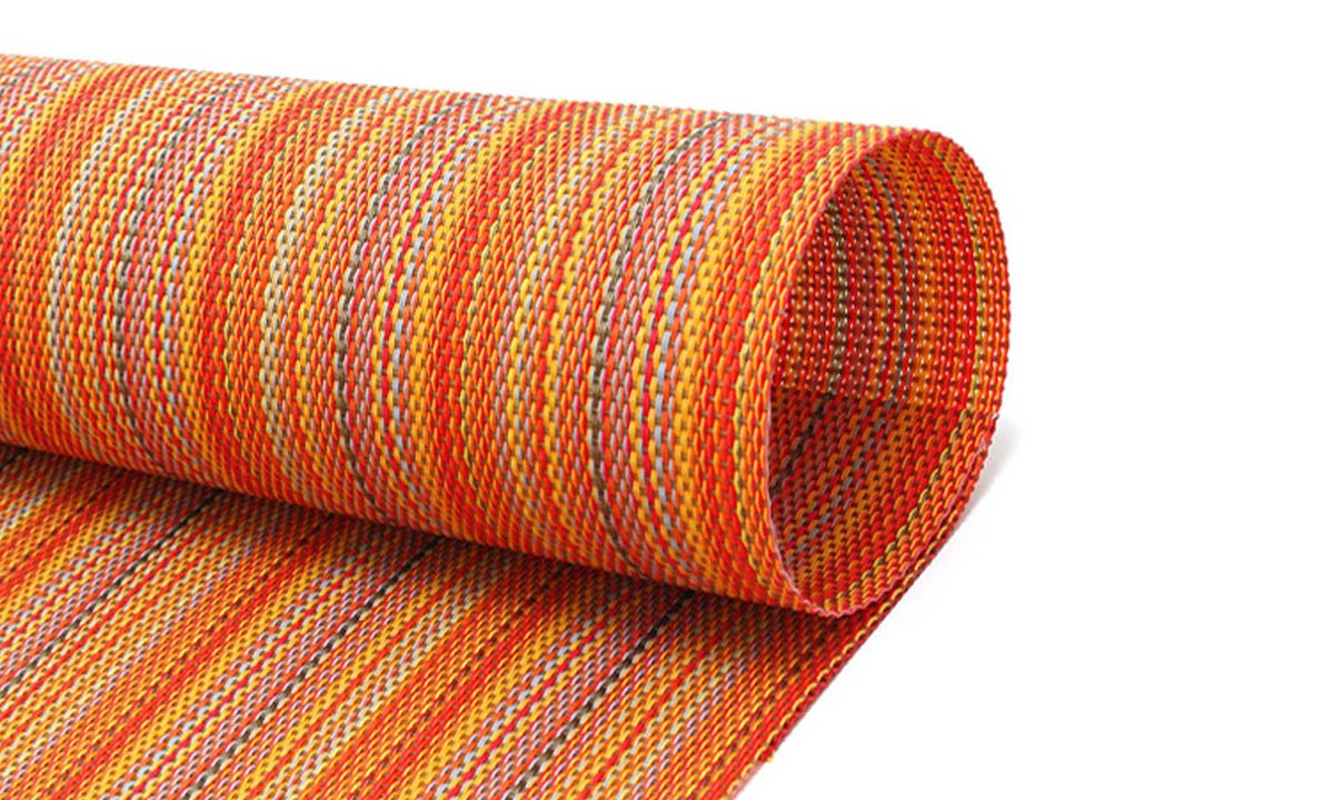 Metroweave Mesh Mat - Orange