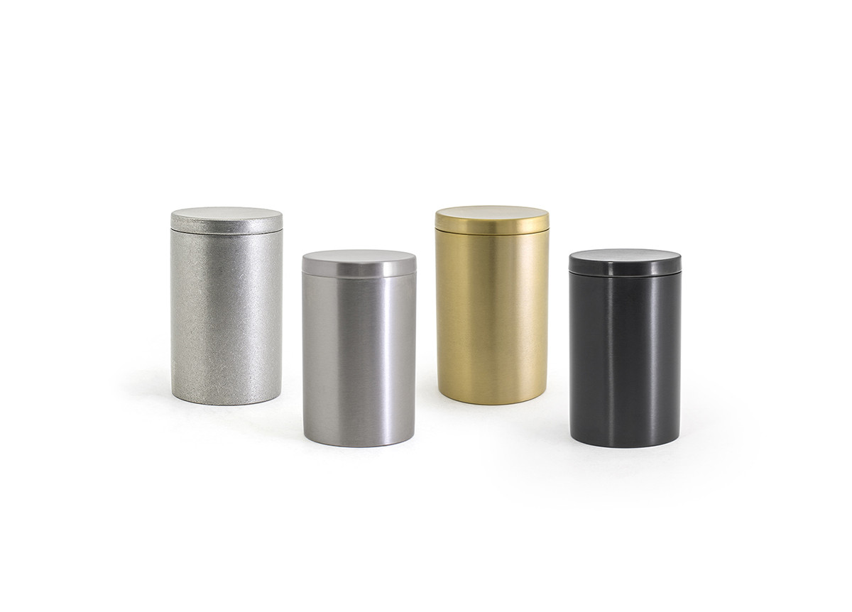 Stainless Steel Jar with Lid